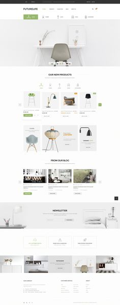 Buy Futurelife - eCommerce PSD Template by Pixel-Creative on ThemeForest. Description Futurelife – Ecommerce PSD Template is a uniquely ecommerce website template designed in Photoshop with a. Ecommerce Webdesign, Webdesign Layouts, Responsive Web, Furniture Layout, Unique Furniture, Furniture Design, Furniture Ideas, Smart Furniture, Ikea Furniture