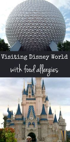 Tips and advice for visiting Walt Disney World with food allergies. #foodallergy disney with allergies #disney #disneyland