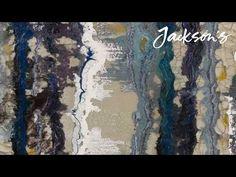 Acrylic & Mixed Media - Part 1 of 3. how-to tutorial by Caroline Jernigan - YouTube