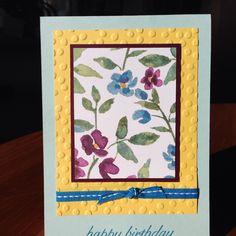 One sheet wonder card #5