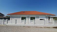 Casa pe parter in Corbeanca | CoArtCo House Foundation, Facade House, Design Case, Architect Design, House Plans, Garage Doors, Outdoor Decor, Home Decor, South Africa