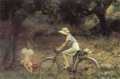 © David Hamilton - Jeunes Filles à Bicyclette