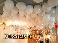 Balloon Decorations, Balloons, Ceiling Lights, Dreams, Engagement, Birthday, Party, Globes, Birthdays