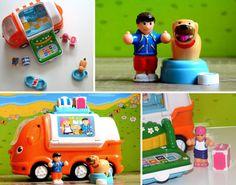Casey Camper Van est un jouet qui contient un van camping-car, deux personnages, un chien, et des accessoires pour jouer à partir en vacances au bout du monde. #CaseyCamperVan #WowToys