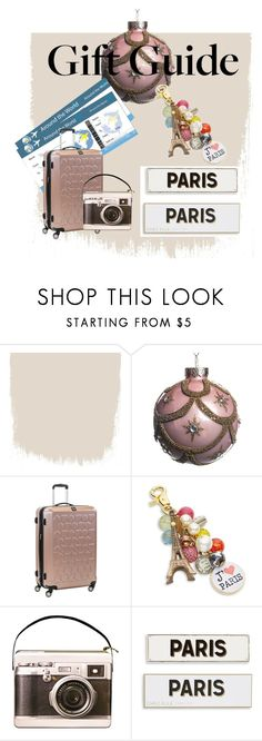 """""""Paris for the Holidays"""" by fleigh ❤ liked on Polyvore featuring Lenora Dame and Rosanna"""
