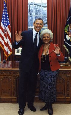 President Obama & Star Trek's Nichelle Nichols from Stars Meet the President