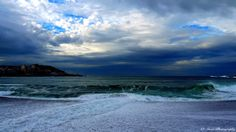 Playa del Orzan (La Coruña) Spain
