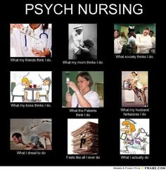 Mental Health Nursing (not that I have a husband or a uniform)