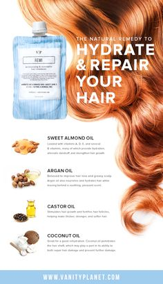 A natural hair remedy is the best remedy! Lear more at vanityplanet.com!