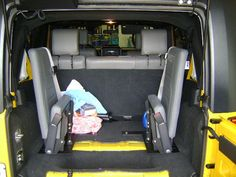 Third Row Jump Seat - JKowners.com : Jeep Wrangler JK Forum | Jeep