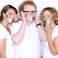 Jen Kirkman, Brad Wollack, and Sarah Colonna. Chelsea lately cast