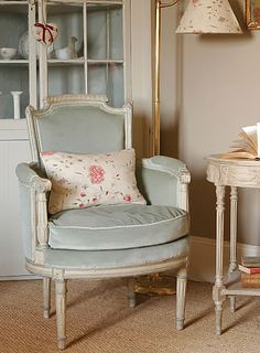 pillow and chair, lovely