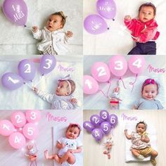 How to Take Newborn Baby Photos? Monthly Baby Photos, Newborn Baby Photos, Baby Poses, Baby Girl Newborn, Baby Girl Pictures, Foto Baby, Newborn Baby Photography, Baby Milestones, Baby Month By Month