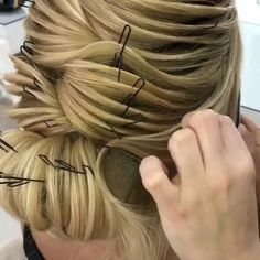 Best Hairstyles For Women Special Occasion, Dance Hairstyles, Unique Hairstyles, Braided Hairstyles, Middle Hair, Hair Upstyles, Natural Hair Styles, Long Hair Styles, Pinterest Hair, Braid Styles
