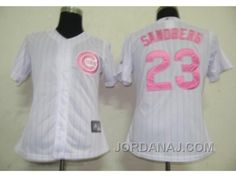 http://www.jordanaj.com/mlb-women-jerseys-chicago-cubs-23-sandberg-whitepink-strip-291395.html MLB WOMEN JERSEYS CHICAGO CUBS #23 SANDBERG WHITE[PINK STRIP] 291395 Only 17.75€ , Free Shipping!