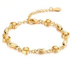 Jewelry K Gold Jewelry Wedding Bride Love Apple Grind Arenaceous Bead Bracelet With KS