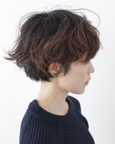 Short Hair Tomboy, Asian Short Hair, Girl Short Hair, Short Curly Hair, Short Hair Cuts, Curly Hair Styles, Girls Short Haircuts, Short Hairstyles For Women, Tomboy Hairstyles