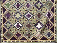 Ohio Star and Patchwork by DLQ by DLQuilts, via Flickr