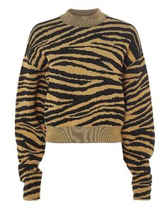 c46d288859c6de Proenza Schouler Tiger Jacquard Sweater Pulls, News Design, Men Sweater,  Designer Clothing,