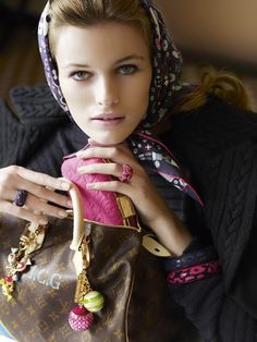 Louis Vuitton accessorized | Keep the Glamour | BeStayBeautiful