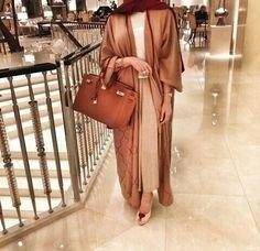Hijab Fashion 2016/2017: Tan | Abaya