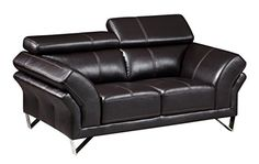 Global Furniture U7590  DTP669B  L Agnes Loveseat Dark Walnut * Be sure to check out this awesome product.