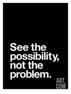 See The Possibility not the Problem Art Print by Brett Wilson at Art.com