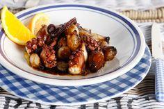 Χταπόδι στιφάδο - Συνταγές   γαστρονόμος