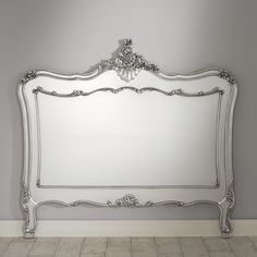 La Rochelle Antique French Silver Headboard