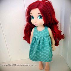 Ariel keeping it simple. disney animator doll clothing