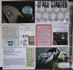 Travel project life page