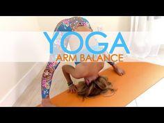 Yoga Arm Balance Practice, Build up to Firefly, Tittibhasana with Kino - YouTube