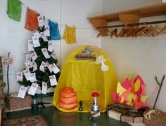 Everest VBS donation display