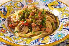 Pasta alla capricciosella e la ricetta in rima di Aldo Fabrizi