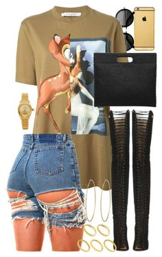 """Untitled #1583"" by power-beauty ❤ liked on Polyvore featuring Goldgenie, The Row, Givenchy, Social Anarchy, Rolex and ASOS"