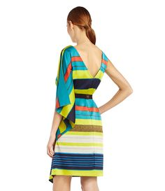 Max and Cleo Striped Dress