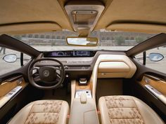 What's inside really counts. 2007 Mercedes-Benz F700 concept