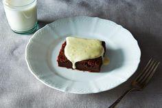 Deep Chocolate Cake with Orange Icing recipe: #food52