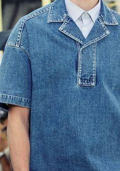 1f6117aeb756 hautekills: Kenzo menswear s/s 2015 Blue Jeans, Denim Jeans, Denim Shirt