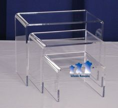 MS9 Mannequin Stand  Acrylic Riser Set  Medium http://amzn.to/HLE0io