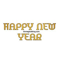 New Year Anime, Happy New Year Png, New Year Words, New Year Clipart, Picsart Png, Png Format, Word Art, Dj, Sticker