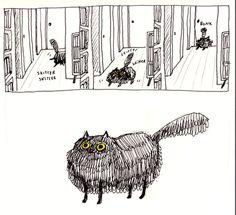 Catsparella: A Year In Cat Comics