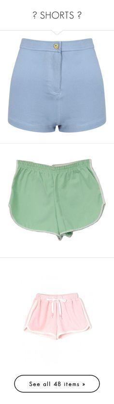 """♡ SHORTS ♡"" by na-ri ❤ liked on Polyvore featuring shorts, bottoms, short, pants, short jean shorts, high-waisted jean shorts, hot pants, high waisted jean shorts, high-waisted shorts and sport"