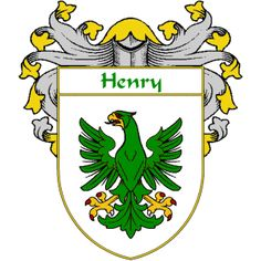 Henry Coat of Arms   namegameshop.com has a wide variety of products with your surname with your coat of arms/family crest, flags and national symbols from England, Ireland, Scotland and Wale