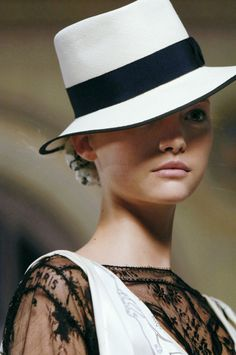 """For the not so sunny but more """"stylish"""" occasion. Fedora-esk."""