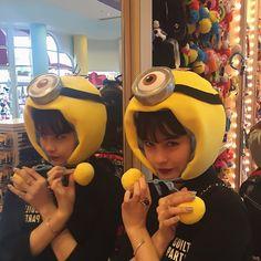 Emma USJ Japanese Models, Japan Fashion, Pretty People, Minions, Cute, Image, Instagram, Japan Style, Girls