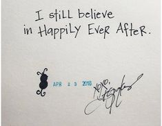 Still Believe ✌