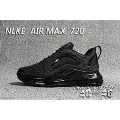 designer fashion a2997 d2518 Nike Air Max 720 All Black New Year Deals, Price   88.86 - Men Nike Air  VaporMax 2018, Women Nike Air VaporMax, Air VaporMax 2018 Sneakers, ...