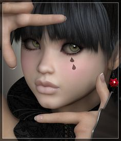 This product is not optimized for Daz Studio. Some MAT files may require adjustments to function correctly in Daz Studio ------------------------------------------------------------------------------------------------------------------------------------------------------------------------------------------------------------------------  Audrey Includes: ---------------------- 1 Head INJ/REM 1 Body INJ/REM 1 Full Body MAT Eye Tear ON/OFF 2 Eye Reflections 3 Eye Lash Options 7 Eye Colors 3…