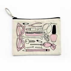 All The Things Canvas Pouch – NYLON SHOP